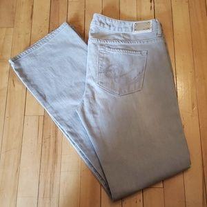 Express X2 Gray Stella boot jeans size 12